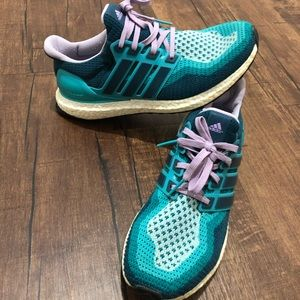 Adidas Ultra Boost 2.0 Violet, Teal, Navy & White